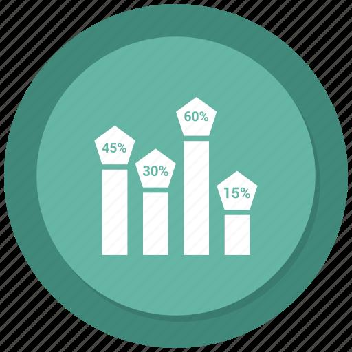 analytics, graph, monitoring, stats icon