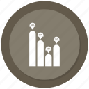 analytics, graph, monitoring, stats icon