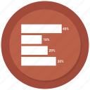 business graph, business growth, graph, growth chart, growth graph icon icon