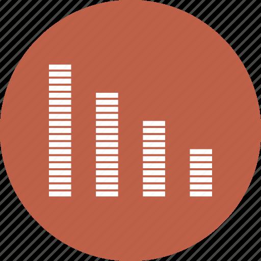 bar, chart, financial, graph, graphic icon