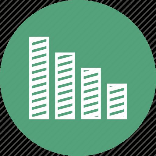 bar chart, chart, data, graph, info, stats icon
