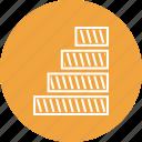 analytics, bar, business, growth, info, seo icon