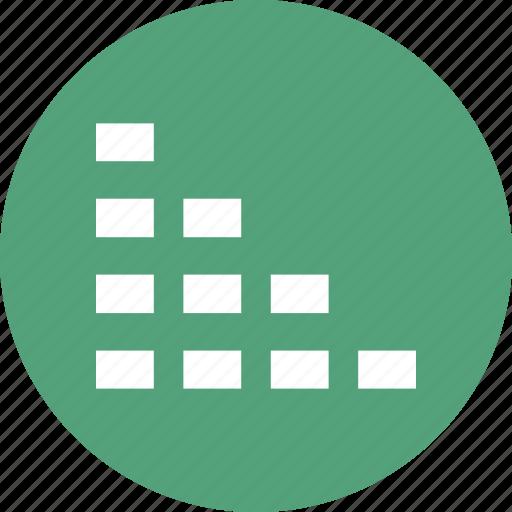 analysis, business, chart, diagram, music bar icon