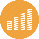 analytics, bar, chart, growth, growth bar icon