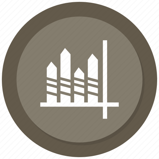 bar, chart, finance, infographic, rising chart, solid icon