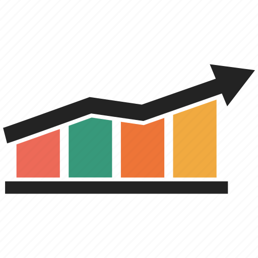 business graph, business growth, graph, growth bar, growth chart, growth graph icon