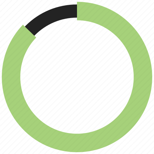 circle chart, circle graph, graph, infographic icon