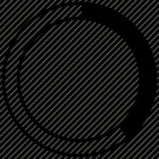 chart, graphic, info, pie icon