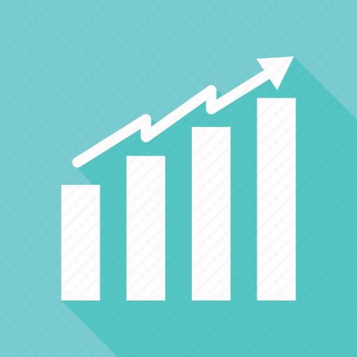 bar, chart, graph, growth icon