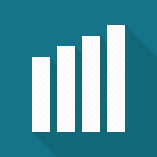bar, bar chart, business, chart, graph, infographic element icon