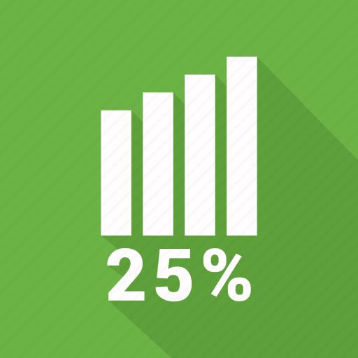 bar, bar chart, business, chart, graph, infographic element, twenty five icon