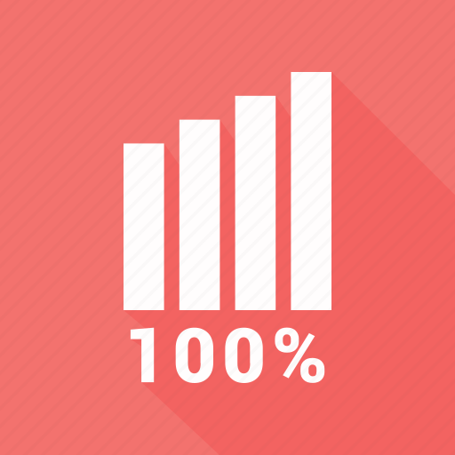 bar, bar chart, business, chart, graph, hundred icon