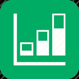 analytics, bars, chart, graph, growth, signal, statistics icon