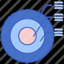 basic, circle, infographic, target