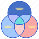 basic, diagram, infographic, venn