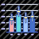 analytics, chart, graph, stock