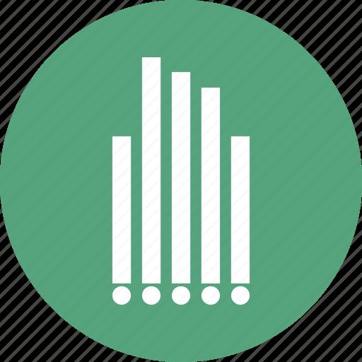 analytics, bar chart, business, chart, finance icon