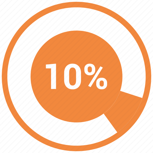 Chart, diagram, graph, pie chart, pie graph, ten icon - Download on Iconfinder