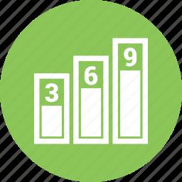 bar, chart, graph icon