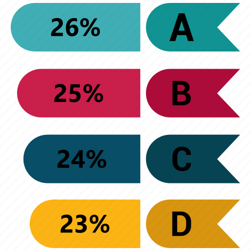 business, chart, infographic, metric icon
