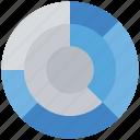 analytics, chart, diagram, graph, pie chart icon