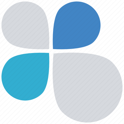 Chart, flower, graph, info, percentage icon - Download on Iconfinder