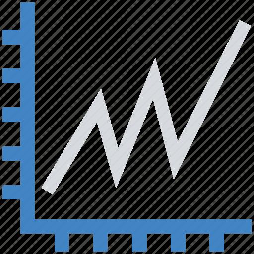 diagram, financial, graph, report, statistics icon