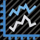 analysis, chart, finance, graph icon