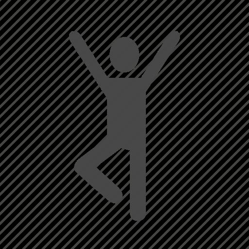 artist, cheer, dance, happy, jump, man, perform, zumba icon