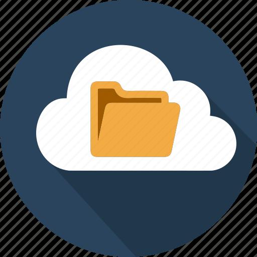 Cloud, computer, computing, data, degital, folder, office icon - Download on Iconfinder