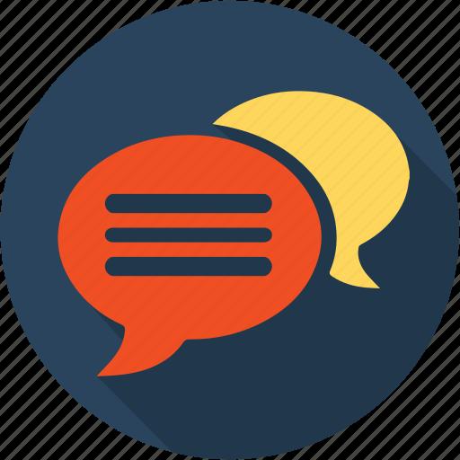 Chat, communication, dialog, internet, network, speak, speech icon - Download on Iconfinder