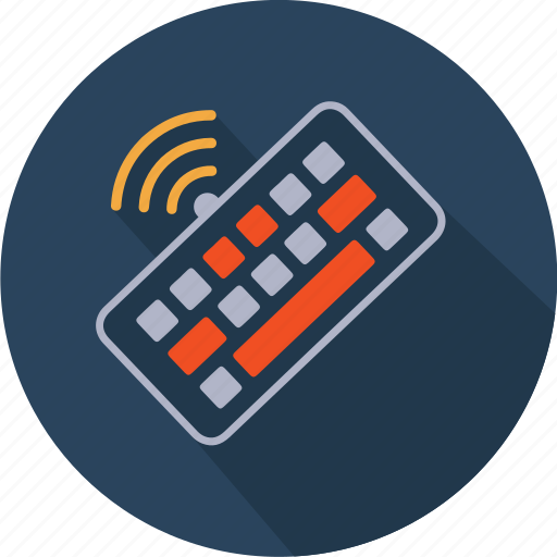 Communication, computer, hardware, keyboard, technology, wifi, wireless icon - Download on Iconfinder