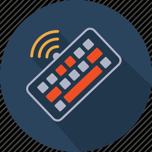 communication, computer, hardware, keyboard, technology, wifi, wireless icon