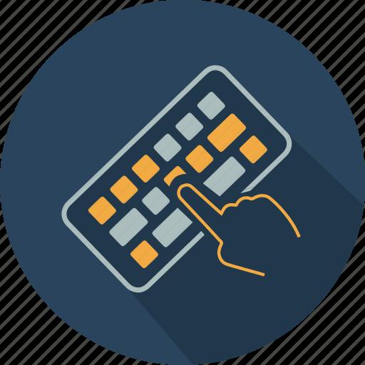 Communication, computer, finger, hardware, keyboard, technology icon - Download on Iconfinder