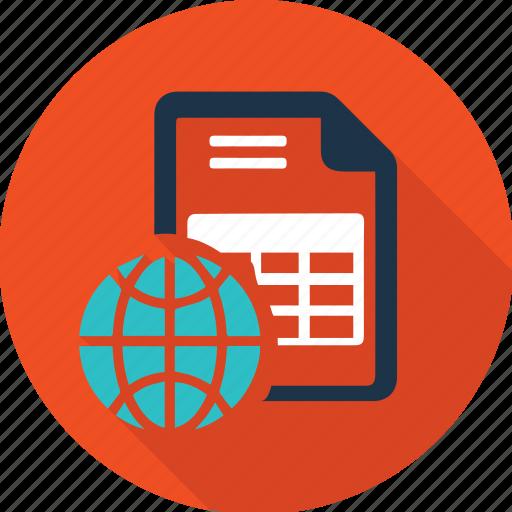 Base, data, document, information, internet, list, network icon - Download on Iconfinder