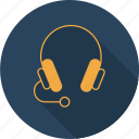 device, headphone, microphone, music, sound, speaker, technology icon