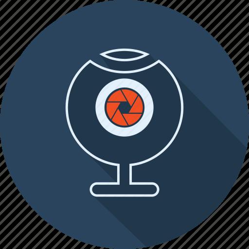 Camera, computer, conferance, discussion, multimedia, video, webcam icon - Download on Iconfinder