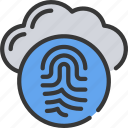 cloud, finger, security, print, information