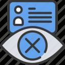 information, private, profile, security, user icon