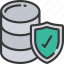 data, information, protected, security, shield icon