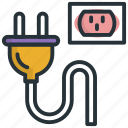 cable, device, play, plug, usb icon