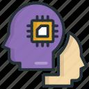 artificial, brain, idea, intelligence, virtual