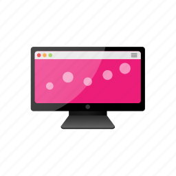 computer, display, monitor, panel, screen icon