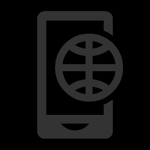 internet, mobile, smartphone icon
