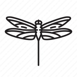 animal, bug, bugs, creature, giant dragonfly, insect icon