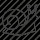 insect, slug, snail icon