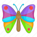 butterfly, cartoon, colorful, decoration, objectspring, summer