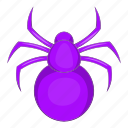 animal, art, cartoon, danger, horror, spider icon