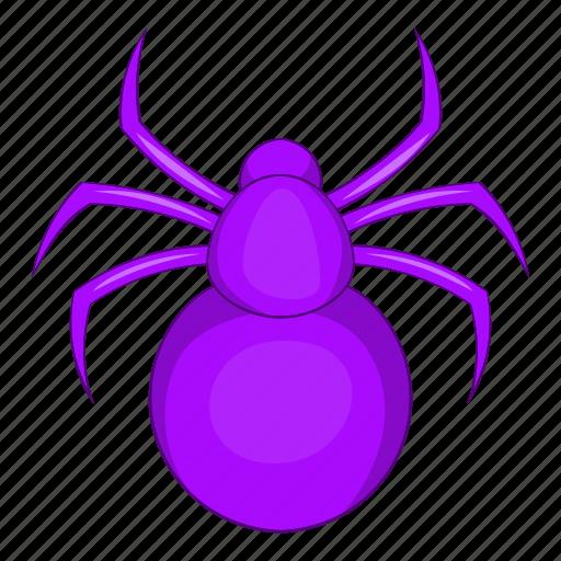 animal, art, cartoon, danger, horror, spider icon