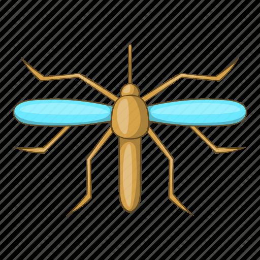cartoon, fever, gnat, insect, malaria, mosquito, virus icon